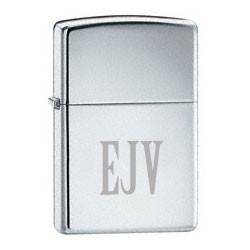 High Polish Chrome Plated Zippo Lighter