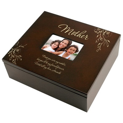 Mother Personalized Photo Keepsake Box