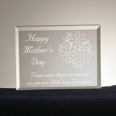 Mothers Day Bouquet Plaque