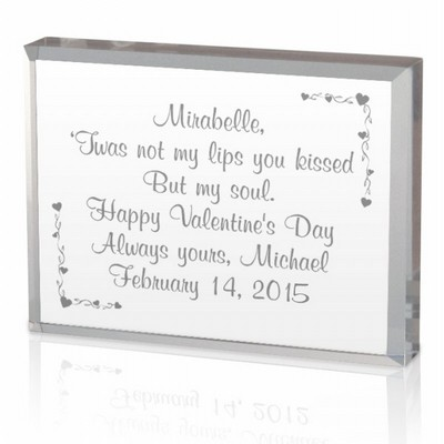 Valentine Message in a Box