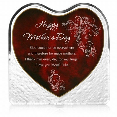 Mothers Day Heart Plaque
