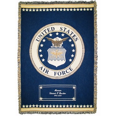 Air Force Cotton Throw