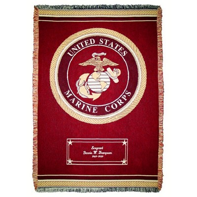 Marine Cotton Throw