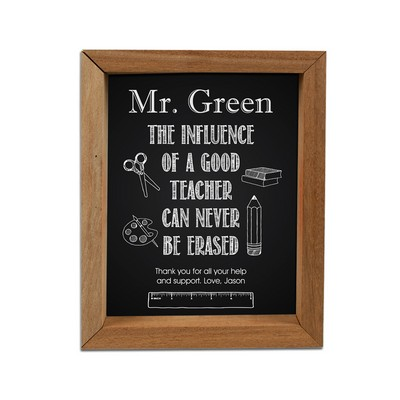 Beautiful Personalized Framed Shadow Box for Teachers