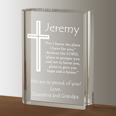 Inspirational Crystal Keepsake Bible
