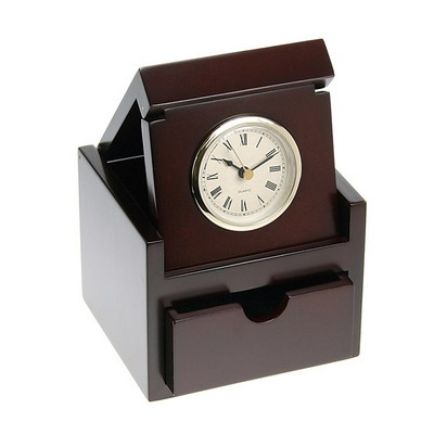 Rosewood Clock in the Box