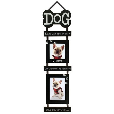 Dog Bone Hanging Wall Photo Frame