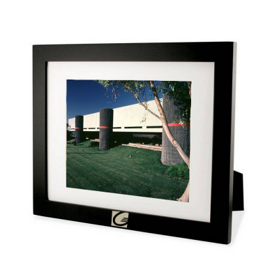 engraved black wood 8x10 picture frame