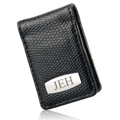 Faux Leather Personalized Magnetic Money Clip