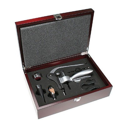 Wine Lovers Premium Rosewood Gift Set