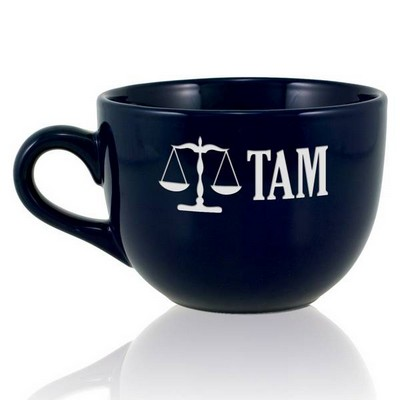 Personalized Navy Blue Legal Jumbo Mug
