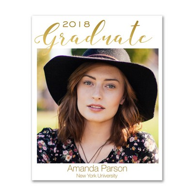 Personalized Graduate 8x10 Photo Print