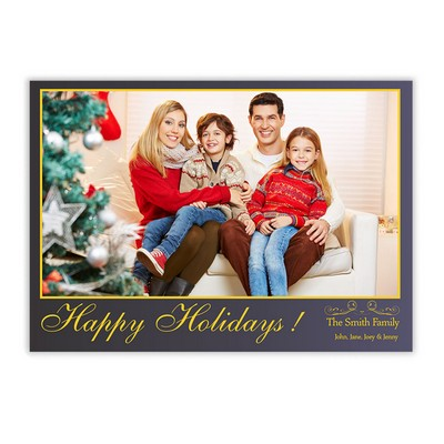 Holiday greeting cards memorable gifts happy holiday family photo card m4hsunfo