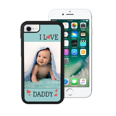 I Love Daddy Photo iPhone Case