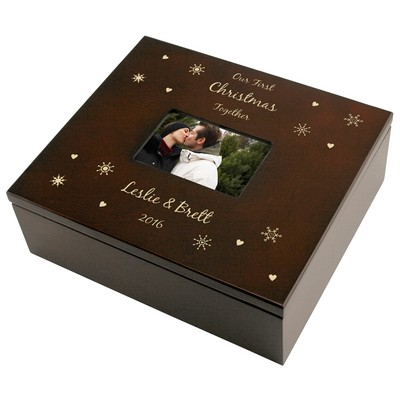 Snowflake Treasures Keepsake Box