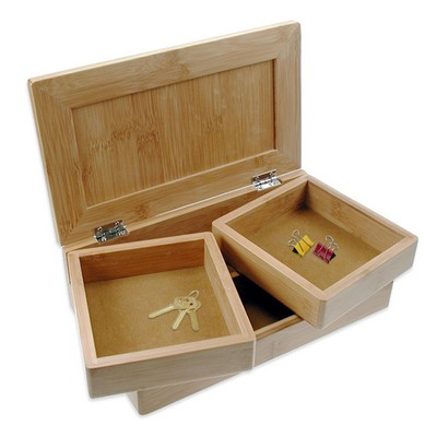Bamboo Desktop Treasure Box
