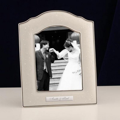 Lenox Wedding Promises Opal Innocence 5 x 7 Frame