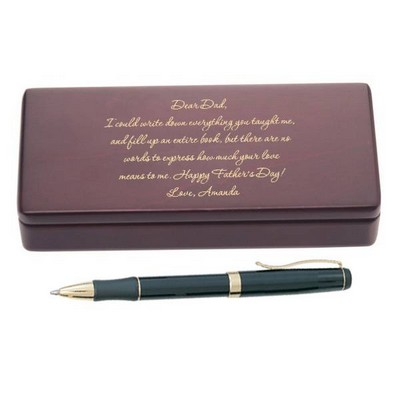Letter to Dad Personalized Pen Set