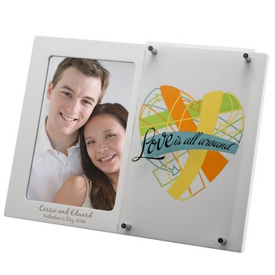 Love is All Around Personalized Photo Frame