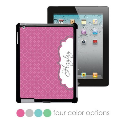 Modern Elegance Personalized iPad Case