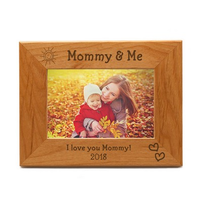 5x7 Mommy and Me Wooden Photo Frame