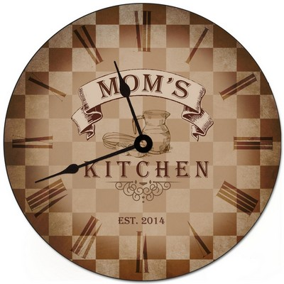 My Kitchen Personalized Wall Clock