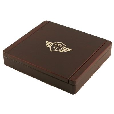 Monogrammed Dart Board Stationery Box