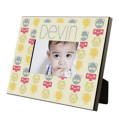 Monster Pattern Personalized Boys 4x6 Picture Frame