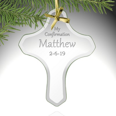 My Confirmation Personalized Cross Ornament