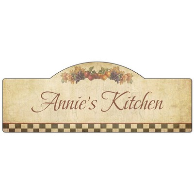 My Kitchen Personalized Wall Decor