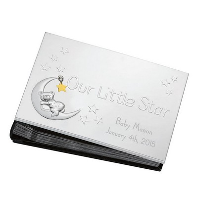 Our Little Star Personalized Lenox Silver 4x6 Photo Album