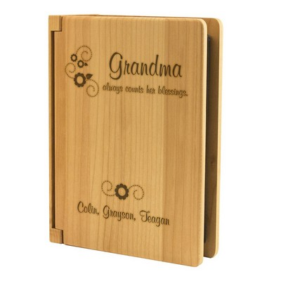 Grandma Counts her Blessings 4x6 Photo Album