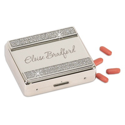 Glamour Glitter 8 Day Pill Box