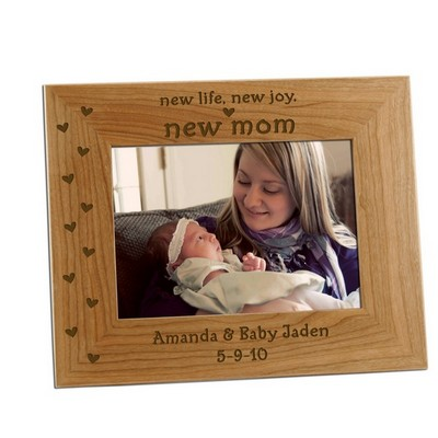 New Mom 5x7 Photo Frame