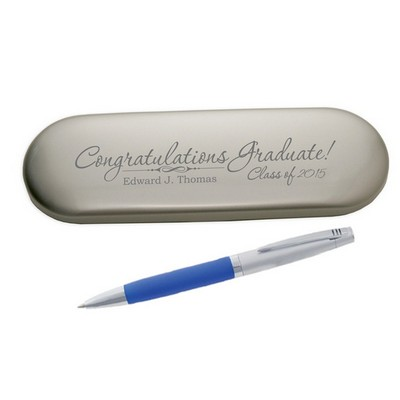 Congratulations Graduate Pen in Aluminum Case