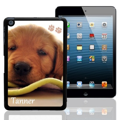 Paw Prints Personalized Pet Photo iPad Mini Case