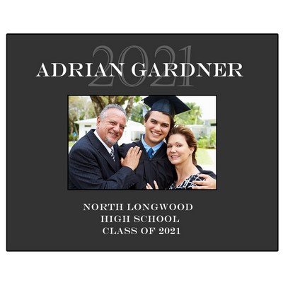 Personalized 4x6 Photo Frame for Graduates