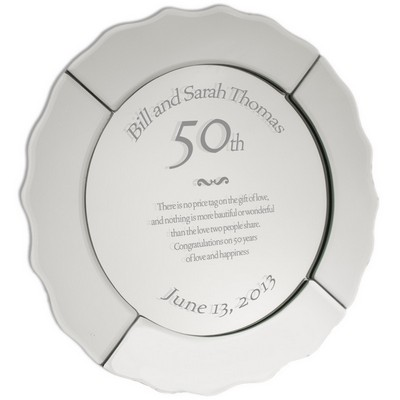 Personalized 50th Wedding Anniversary Gifts 50 Year Gold Plates Amp More