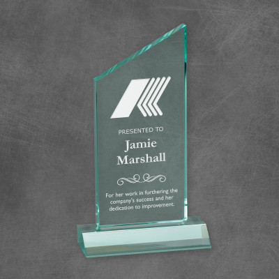 Personalized Executive Jade Acrylic Award