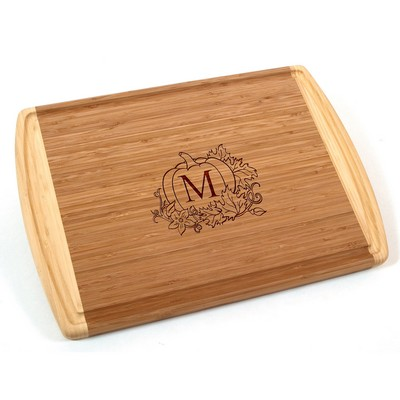 Personalized Fall Bamboo Cutting Board