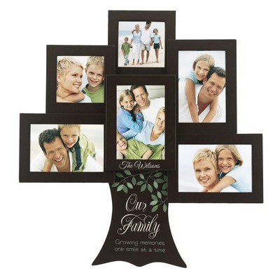 Personalized Family Tree 6 Picture Frame Collage