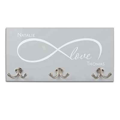 Personalized Infinite Love Coat Hanger