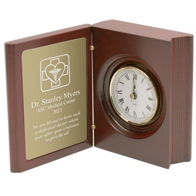 Personalized Medical Book Clock for Doctors