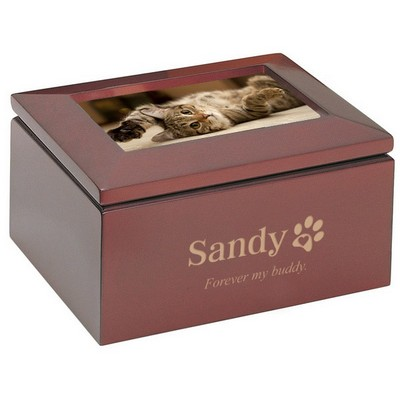 Personalized Pet Treasure Box with Frame