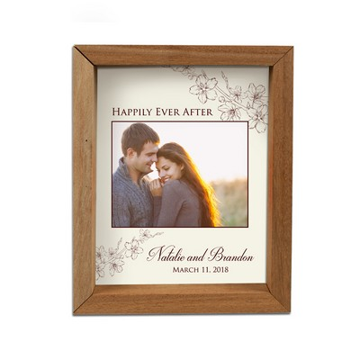 Personalized Photo Shadow Box for Couples