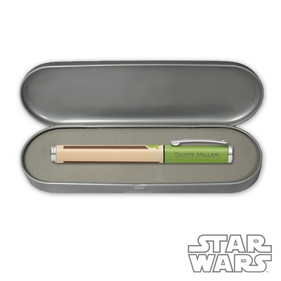 Personalized Sheaffer Star Wars™  Yoda™ Gel Rollerball Pen