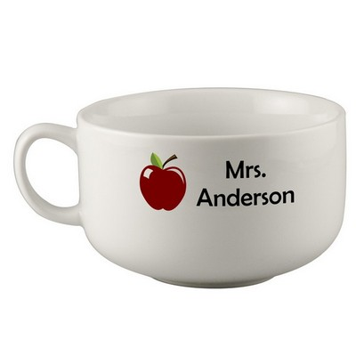 Personalized Soup Mug for Teachers