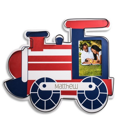 Personalized new baby gifts banks blankets frames more personalized train wall art with 4x6 frame negle Gallery