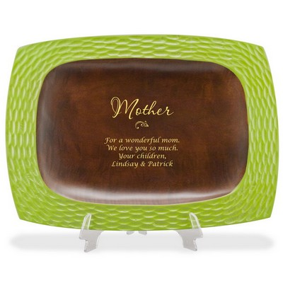 Personalized Wooden Keepsake Tray for Mom