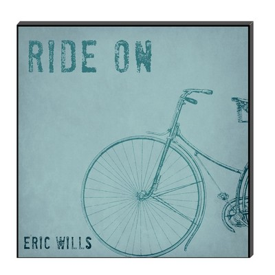 Ride On Inspirational Wall Art Panel